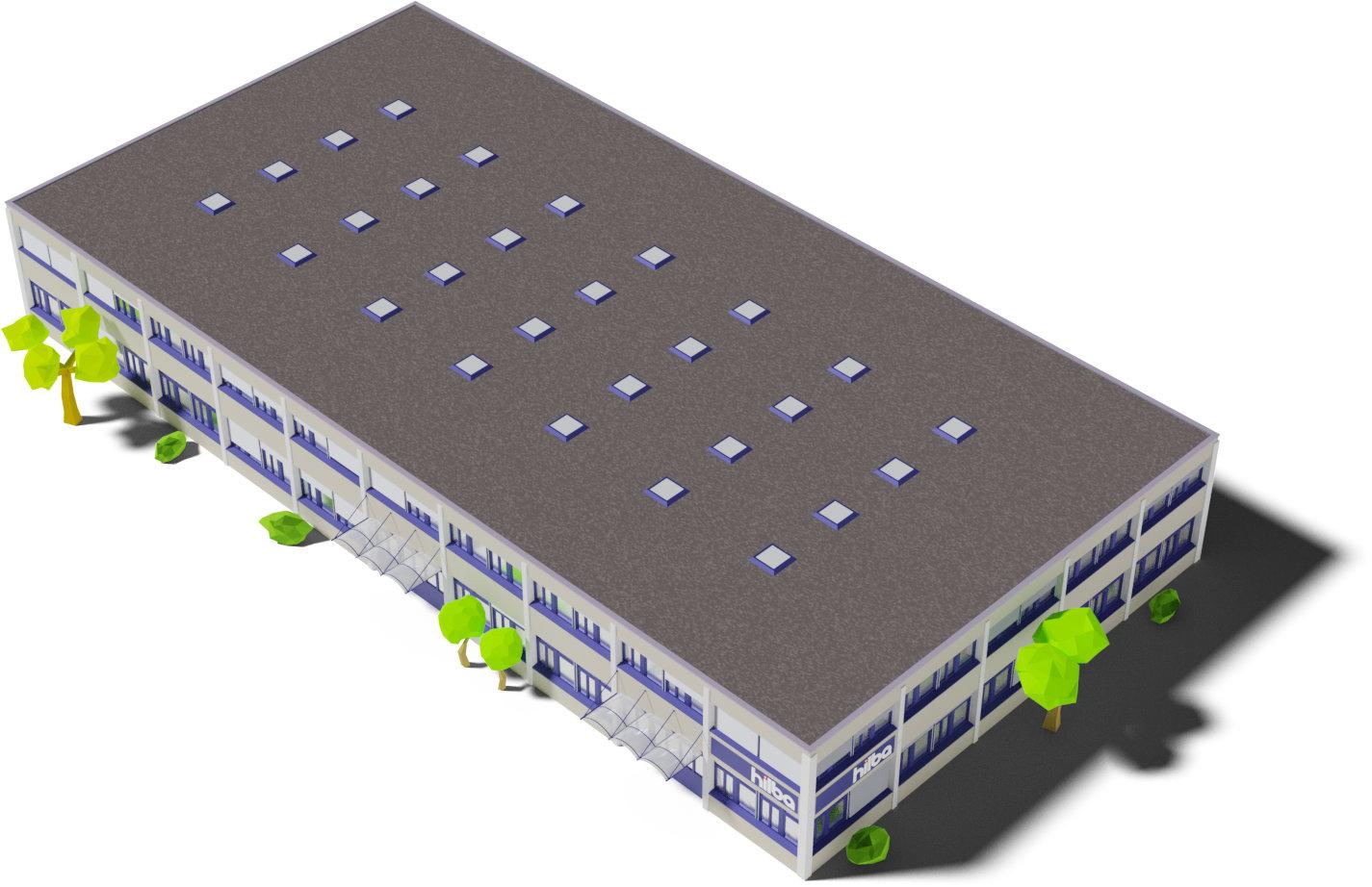 Firmengebäude der HILBA Antriebstechnik AG