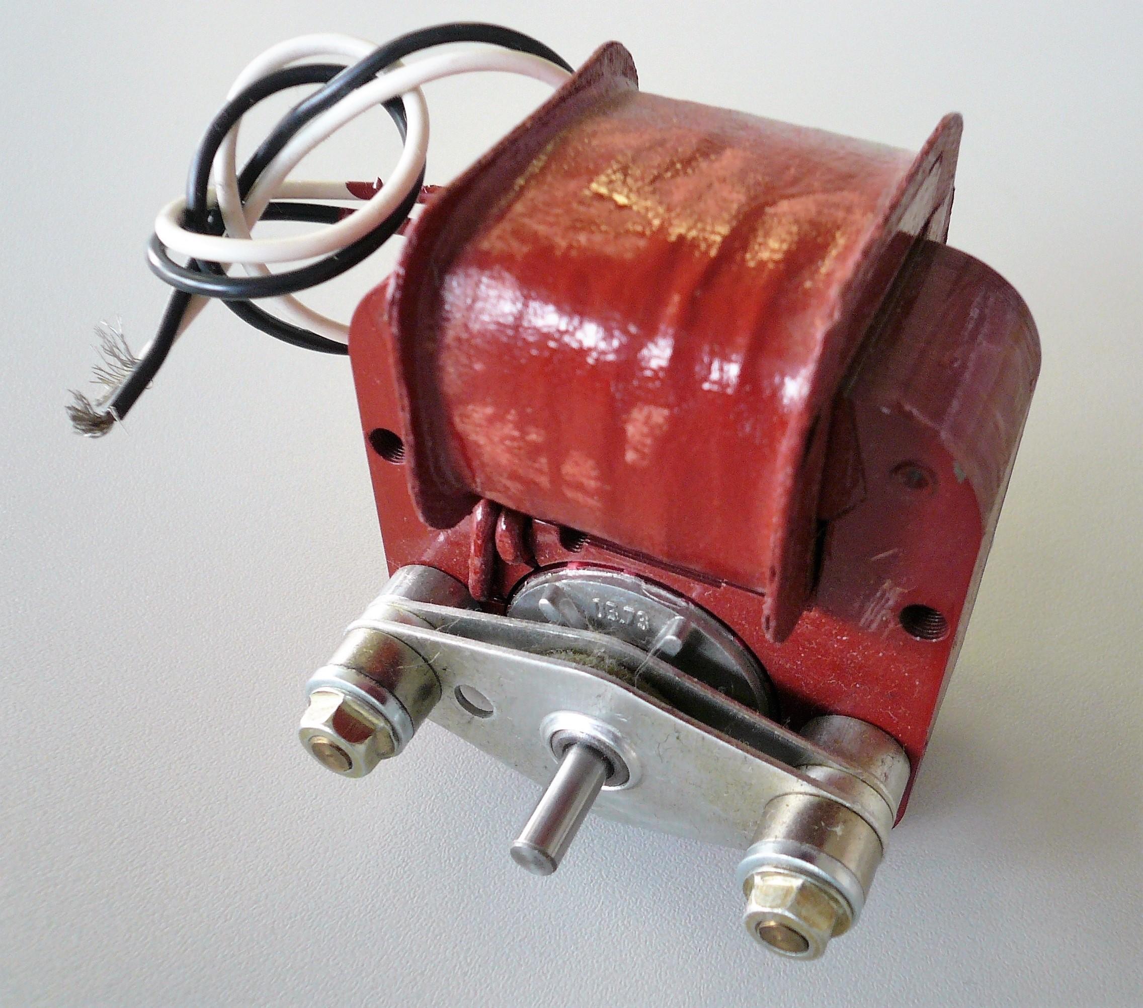 The Shaded-pole motor